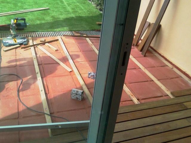 Cubrir terraza con madera ipe reformas for Cubrir suelo terraza