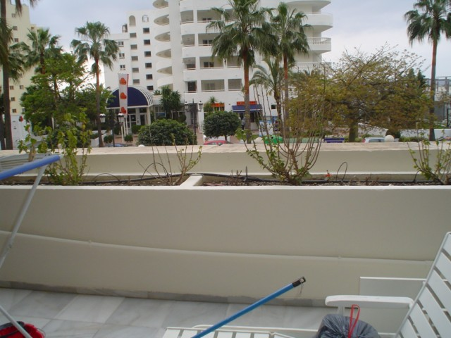 Reparar jardineras y pintar terraza - Pintar terraza ...